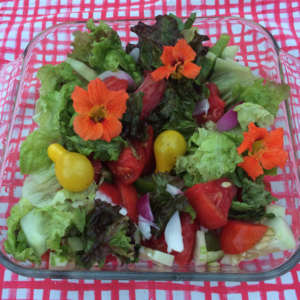 A pretty salad? Why not?